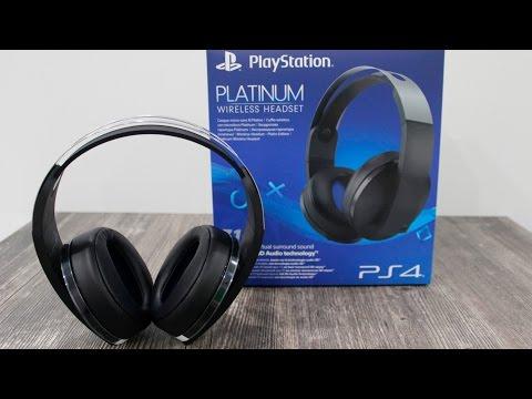 ОБЗОР ГАРНИТУРЫ PlayStation 4 Platinum Wireless Headset