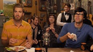 The Crew Eats the Cockscomb