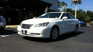 Autoline Preowned 2008 Lexus ES 350 For Sale Used Walk Around Review Test Drive Jacksonville