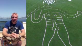 Paddy Power erects the daddy of all tributes to the British No.1 Andy Murray ahead of the tennis which starts today. The bookmaker has given the iconic Cerne Abbas Giant – recognised as a symbol of fertility – a tennis makeover. Confused Dorset locals arose to the ballsy creation this morning which saw their famous chalk figure – usually armed with a giant club – instead holding a tennis racket and tossing a ball.