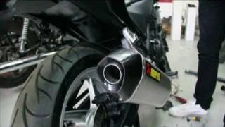 10. Honda CBR 250 R Akrapovič Exhaust