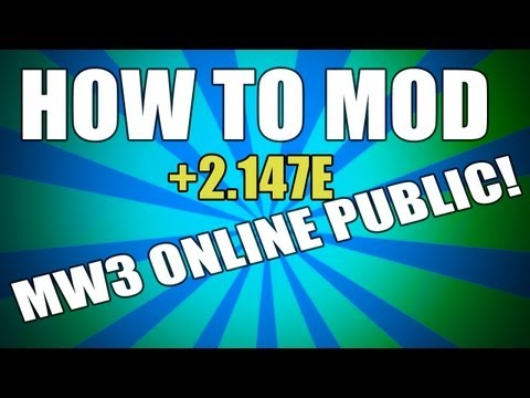 itzlupo - Today I will show you how to bring MW3 Mods Online. These MW3 Mods Are For Xbox 360. ------------------------→http://itzlupo.com/←---------------------------...