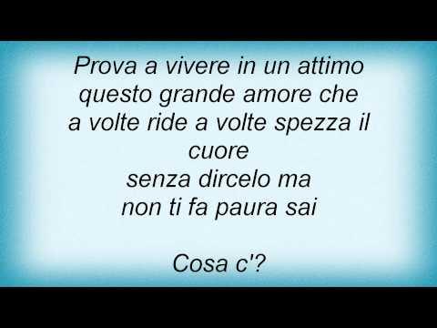 , title : 'Biagio Antonacci - Voglio Vivere In Un Attimo Lyrics_1'