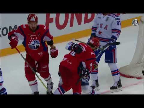 Бой КХЛ: Елесин VS Рыков (видео)