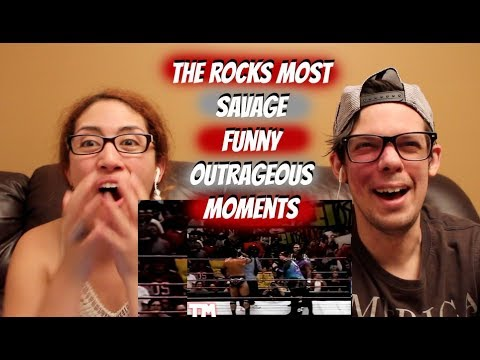 The Rocks Most Funny Savage Moments REACTION!