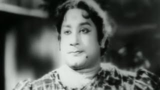 Sivaji Ganesan In Lady Getup -  Comedy Scene From Tamil Movie Kungumam