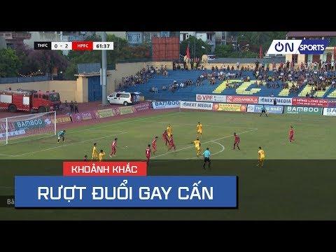 Thanh Hóa vs Hải Phòng   Những bàn thắng liên tiếp khiến CĐV quá hồi hộp - Thời lượng: 98 giây.