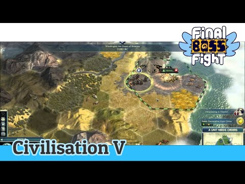 Video thumbnail for Waging War (Round 2) – Sid Meier's Civilization V – Final Boss Fight Live