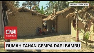Video Rumah Sementara Pengungsi, Rumah Tahan Gempa Dari Bambu MP3, 3GP, MP4, WEBM, AVI, FLV Oktober 2018