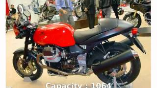 7. Moto Guzzi V 11 Sport Rosso Mandello -  motorbike Top Speed