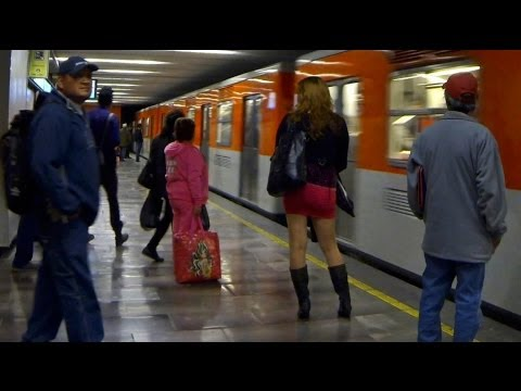 CCTV Reports from Mexico City's Metro: Sex Trafficking