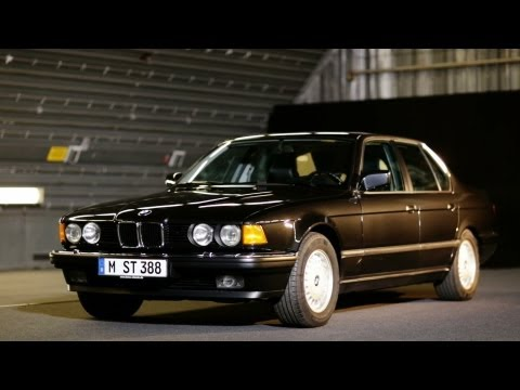 BMW 7 Series. The second generation E32.