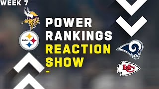 Power Rankings Reaction Show by NFL