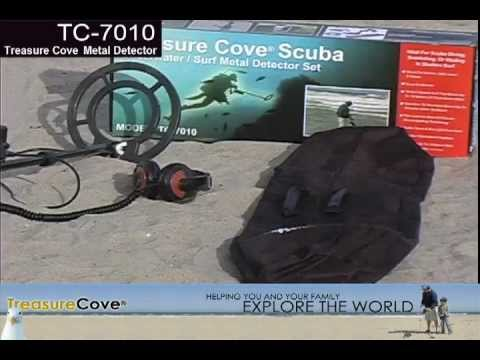 Treasure Cove Model TC-7010 Scuba Metal Detector