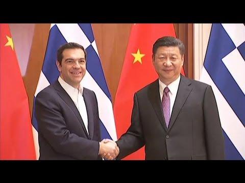 Συνάντηση Α.Τσίπρα με τον Πρόεδρο της Κίνας