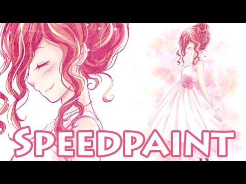 【Speedpaint】 Darling (видео)