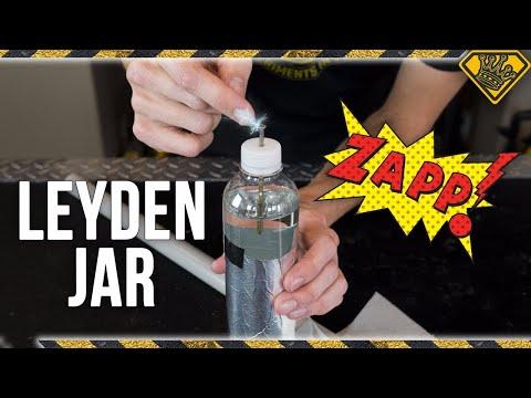 SHOCKING Science with a Leyden Jar