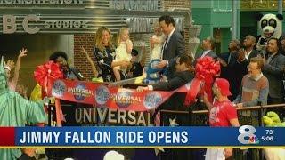 Jimmy Fallon Ride Opens