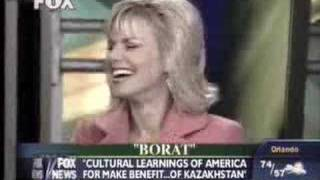 Borat on Fox and Friends