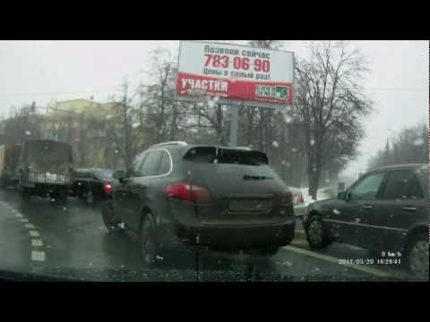 Я свидетель  ДТП, Москва и МО 20.03.2012 (Запись видеорегистратора)