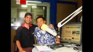 Paulo Silvino da Zorra Total entrevistado pelo radialista Paulo Vargas em Santa Catarina .