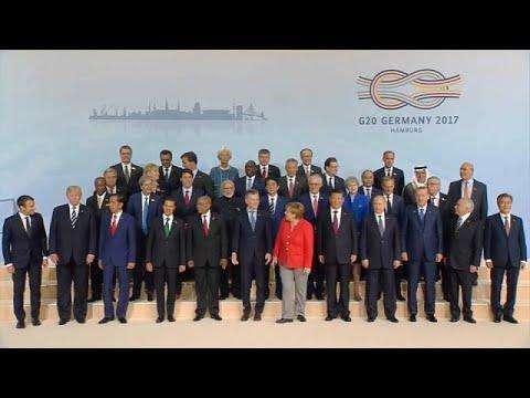 Bundeskanzlerin Angela Merkel eröffnet G20-Gipfel i ...