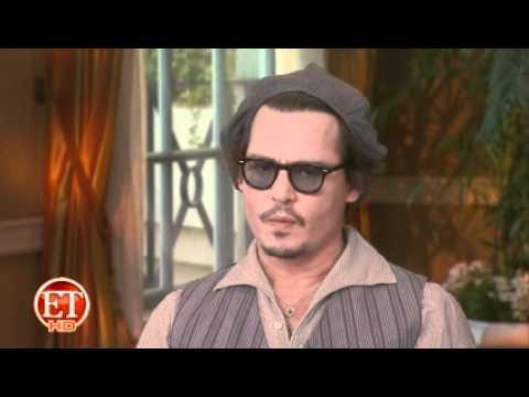 Johnny Depp on Shooting 'The Rum Diary' ETONLINE