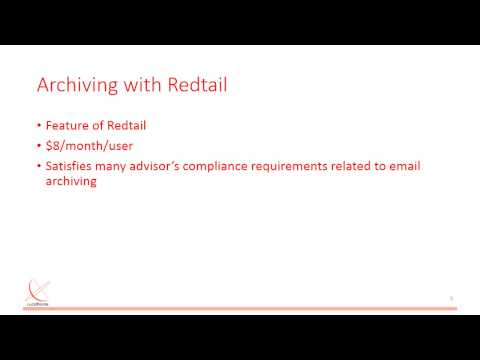 Office 365 for Financial Advisors – Using Redtail