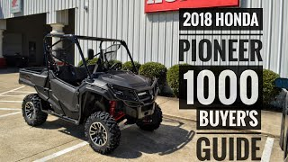 5. 2018 Honda Pioneer 1000 Model Lineup Explained / Differences | UTV / Side by Side Buyer's Guide