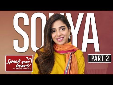 Sonya Hussyn On Speak Your Heart With Samina Peerzada | Part II