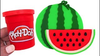 Video Learn Colors Play Doh Making Colorful Watermelon Surprise Squishy Toys MP3, 3GP, MP4, WEBM, AVI, FLV November 2017