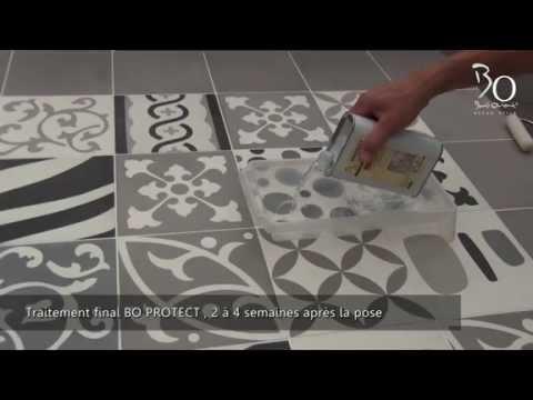 Pose de carreaux ciment par Bati Orient
