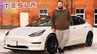Video Распаковка Tesla Model 3 - как iPhone, только машина... MP3, 3GP, MP4, WEBM, AVI, FLV Februari 2018