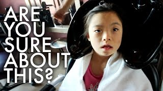 Video EVE SAYS GOODBYE TO LONG HAIR : Traveling Family of 11 MP3, 3GP, MP4, WEBM, AVI, FLV Maret 2018