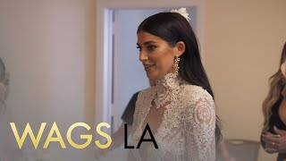 Video WAGS LA | Blushing Bride Nicole Williams Walks Down the Aisle | E! MP3, 3GP, MP4, WEBM, AVI, FLV Maret 2018