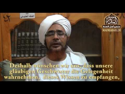 Scheikh al-Habib Umar über das Projekt Madrasah.de