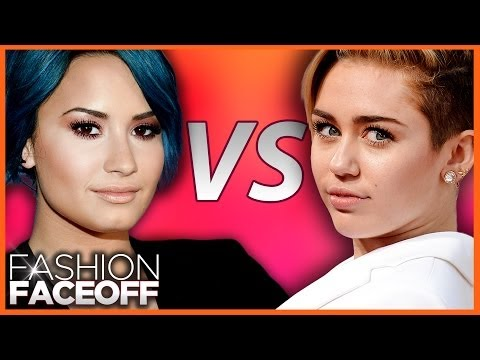 miley - For more ClevverTV shows ▻▻ http://ow.ly/ktrcX VOTE NOW for your favorite style star in this edition of ClevverTV's Fashion Faceoff. Who should win the Demi ...