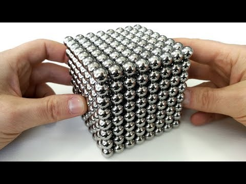 Playing With 512 Big Magnet Balls, Minecraft In Real Life