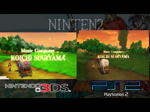 Dragon Quest VIII 3DS VS PS2 Graphics Comparison 3/3 (final Comparison)