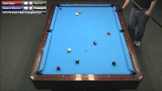 Dave Daya Vs Ronnie Wiseman At The 2012 PA State 9-Ball Championships