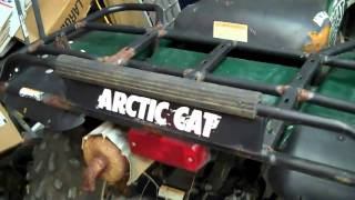 4. Arctic Cat 500 4x4- Walk around - New Project