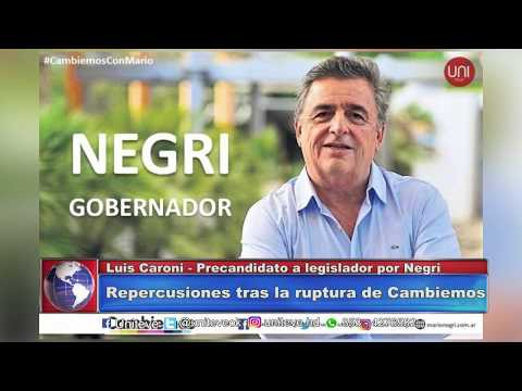 CARONI, TRAS LA RUPTURA DE CAMBIEMOS