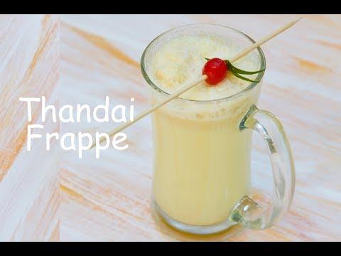 Thandai Frappe