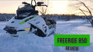 3. Review Ski Doo 2018 FreeRide 850 (Do I like it??)