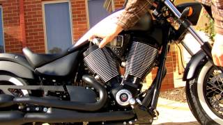 4. Using Engine Brightner on your Victory Motorcycle