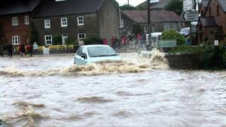 Bedale United Kingdom  city pictures gallery : Flooding at Crakehall, Bedale, N Yorkshire, England, 25th Sept 2012