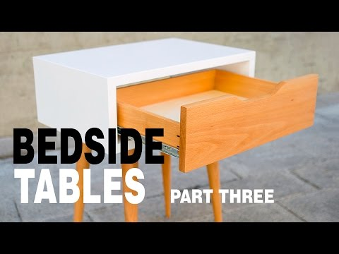 Make Modern Table Night Stand - How to Part 3/3