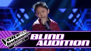 Video Andrew - Oh! Darling | Blind Auditions | The Voice Kids Indonesia Season 3 GTV 2018 MP3, 3GP, MP4, WEBM, AVI, FLV September 2018