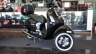 7. Custom Black 'n Chrome Vespa GTS Super by Vespa Motorsport