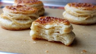 Butter Puff Biscuit Dough - Shortcut Puff Pastry Dough